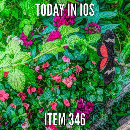 iOS Artwork - iTem 0346 and Episode Transcript