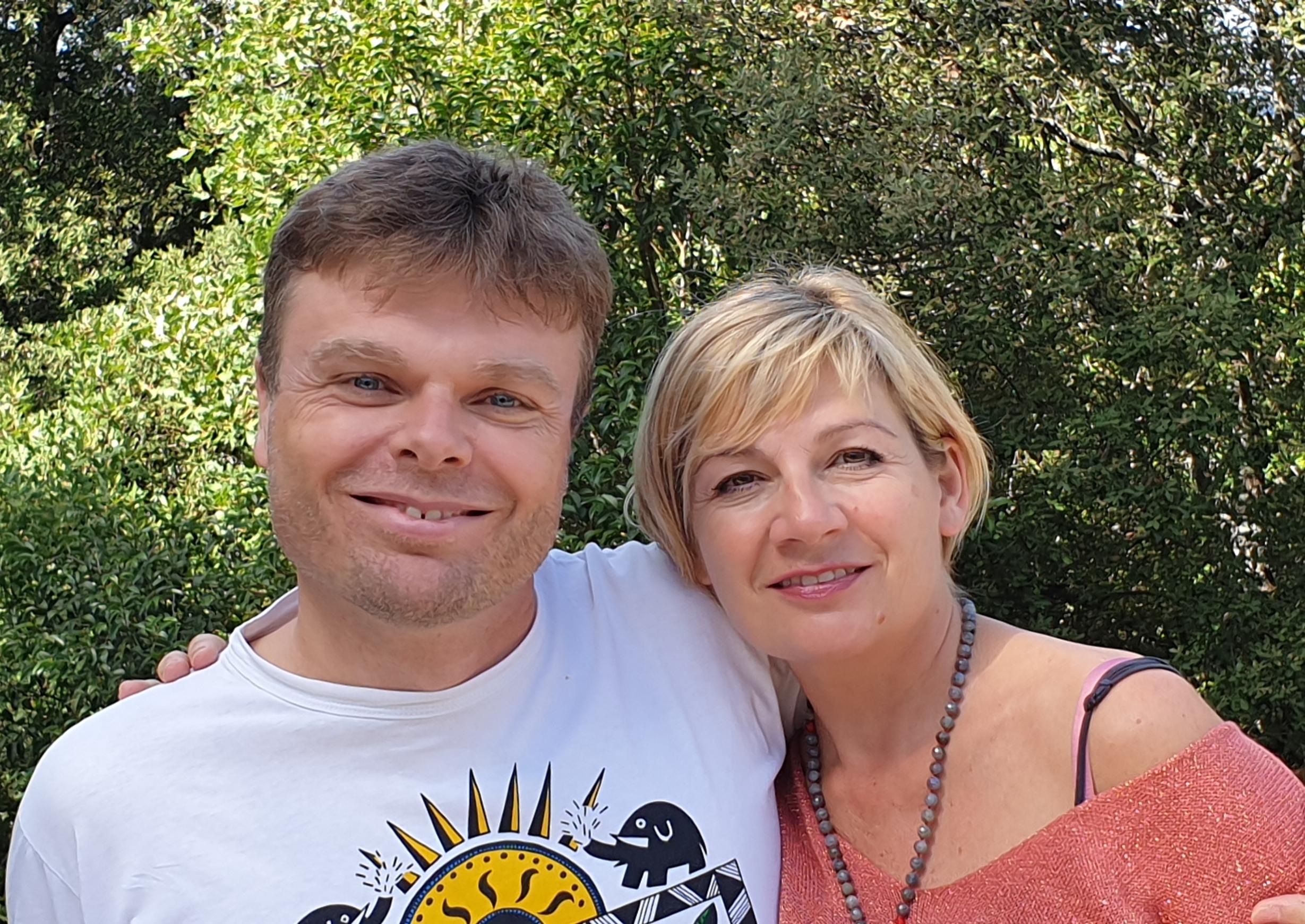 Karine Ravier Wrobel et Marcel Brouillet