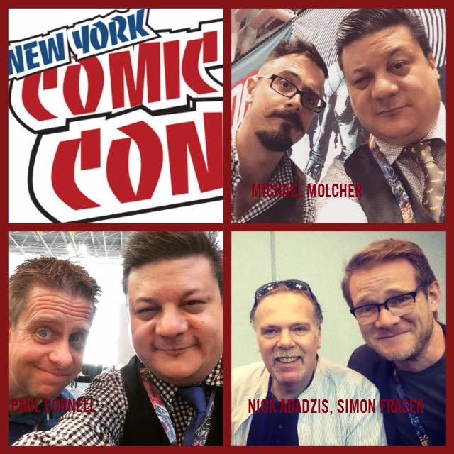 Episode 726 - NYCC: Paul Cornell/Nick Abadzis/Simon Fraser/Michael Molcher!