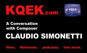 KQEK.com --- Interview with film composer Claudio Simonetti (2015)