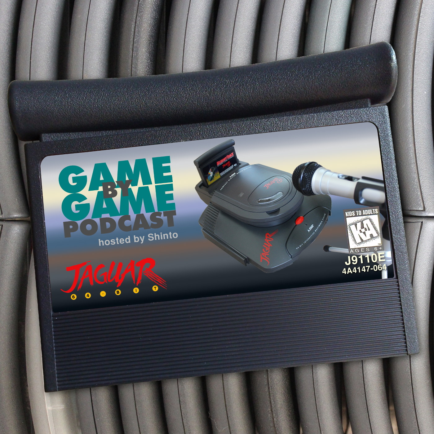 The Atari Jaguar Game by Game Podcast show art