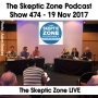 Artwork for The Skeptic Zone #474 - 19.Nov.2017