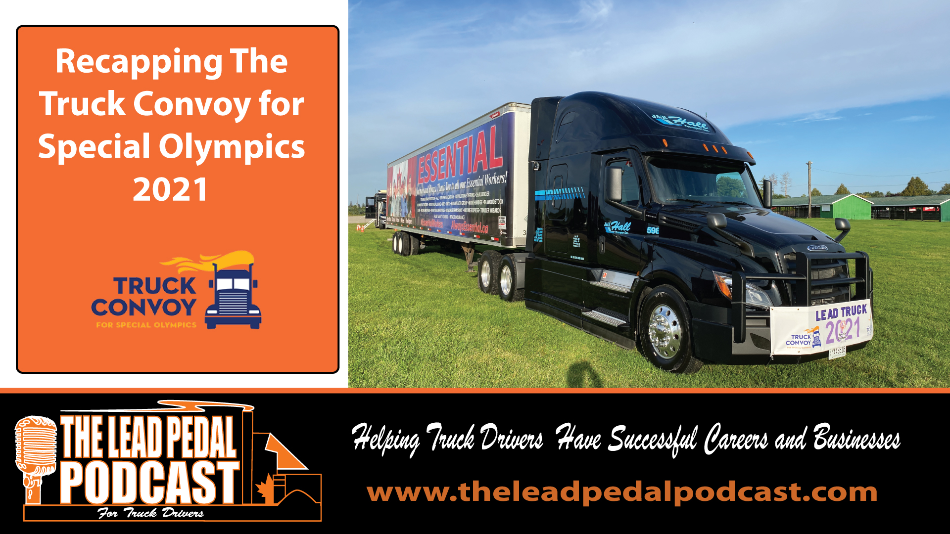 LP696 Recap of the Truck Convoy for Special Olympics 2021