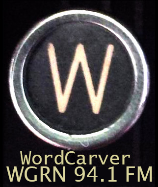 Artwork for 006 Word Carver, Two Dollar Radio and AWP 2017