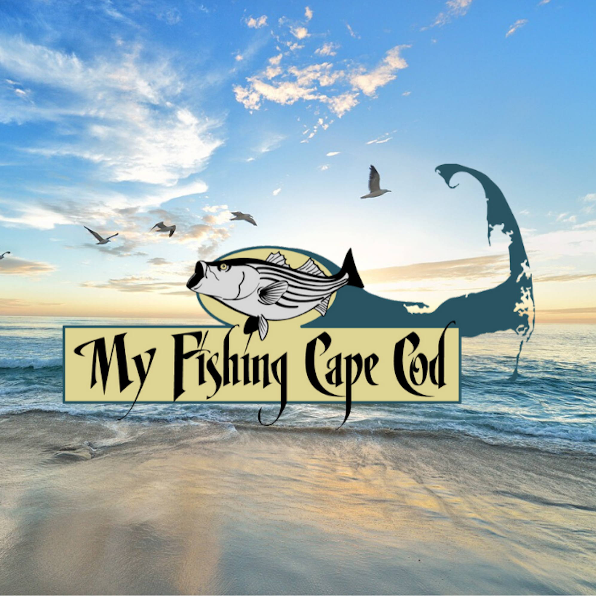 The My Fishing Cape Cod Podcast show art