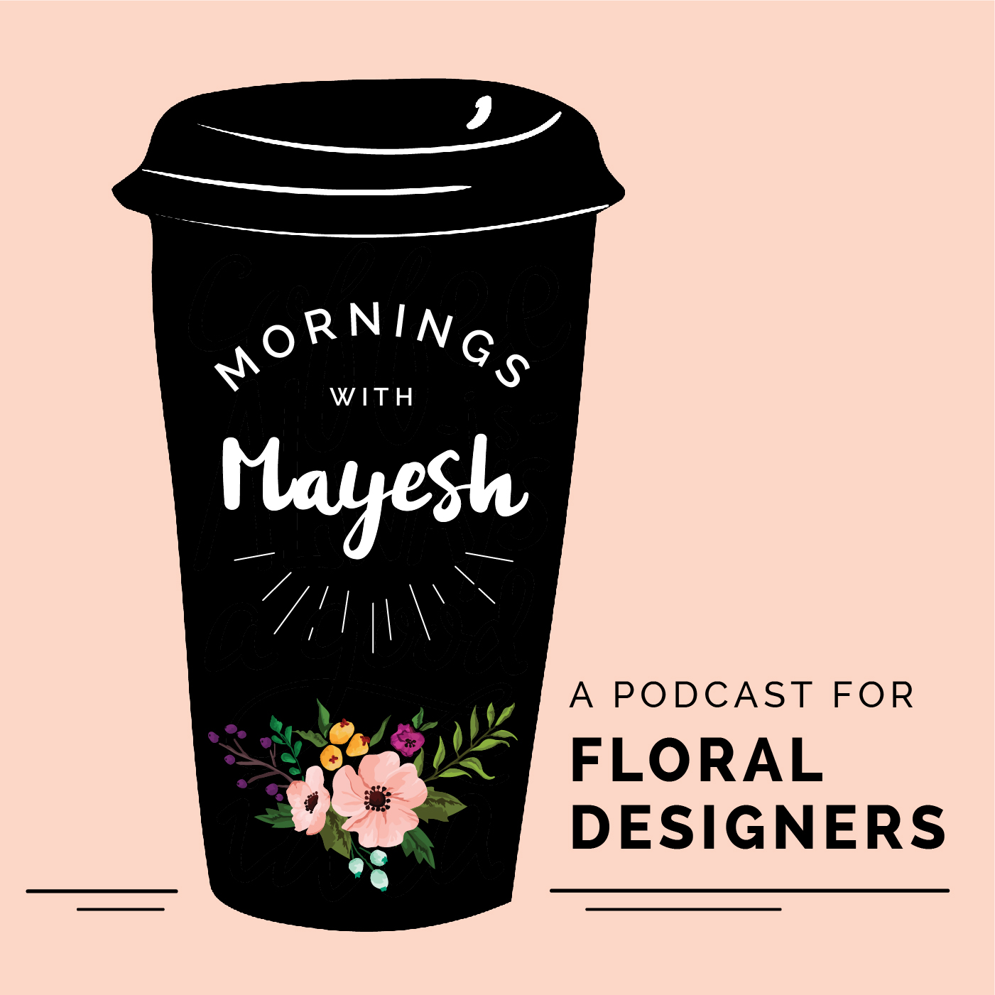 Mornings with Mayesh show art