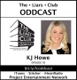 Artwork for The Liars Club Oddcast # 093 | KJ Howe, Award-Winning Thriller Author