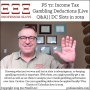 Artwork for PS 72: Income Tax Gambling Deductions (Live Q&A) | DC Slots in 2019