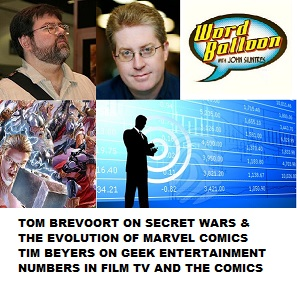 Tom Brevoort On Marvel's Secret War and Tim Beyers on the superhero business