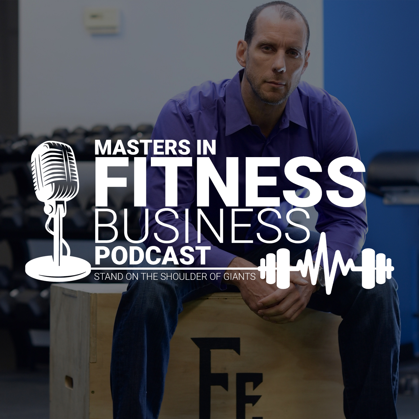 Masters in Fitness Business Podcast show art