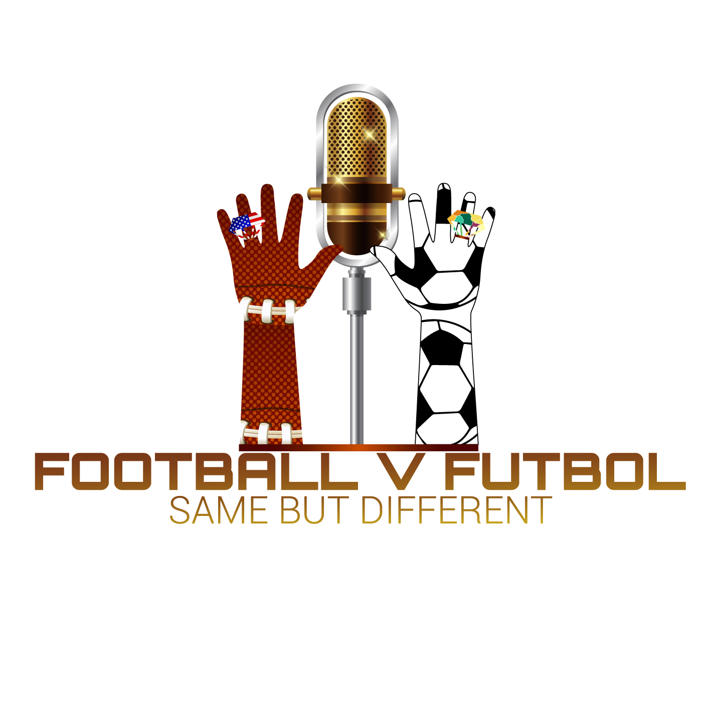 footballvfutbol's podcast show art