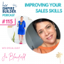 Artwork for Ep115 Improving your sales skills with Jo Blowfield