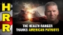 Artwork for The Health Ranger THANKS AMERICAN PATRIOTS