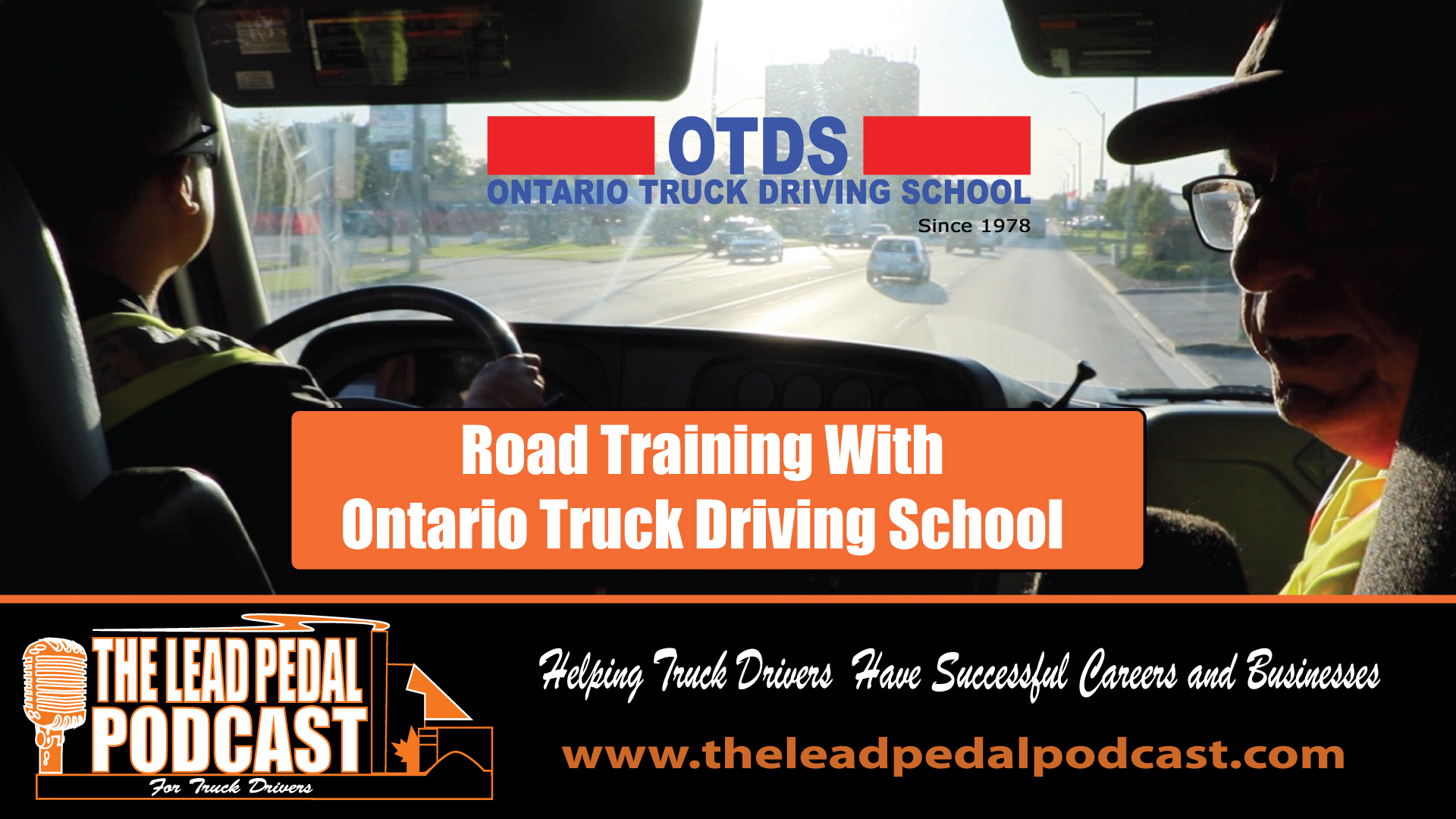 Truck Driver Training with Ontario Truck Driving School