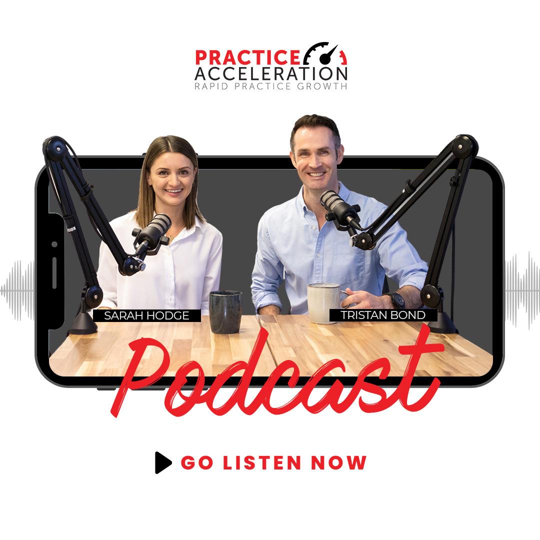 Practice Acceleration Podcast show art