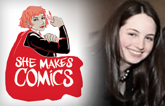 Marisa Stotter, Director of the She Makes Comics Documentary