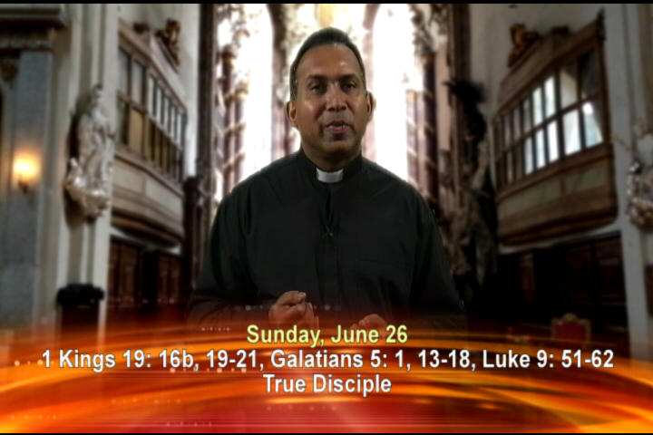 Artwork for Sunday, June 26th Today's topic: True Disciple