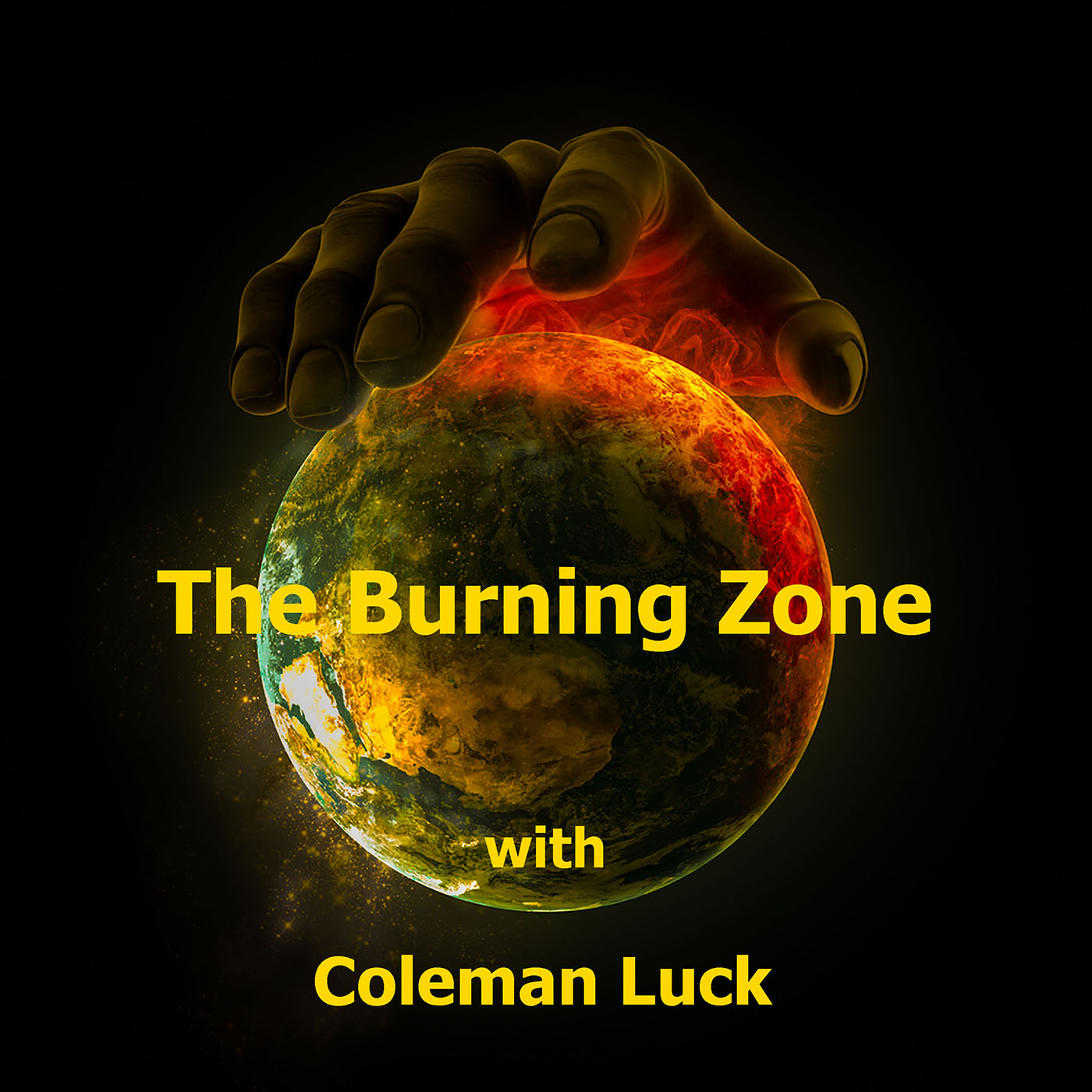 The Burning Zone Podcast show art
