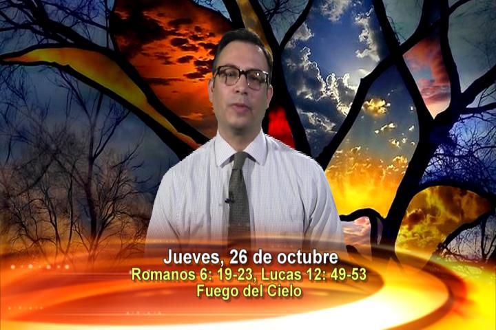 Artwork for Dios te Habla con Elder Samaniego. El tema: Fuego del Cielo