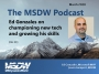 Artwork for Microsoft MVP Ed Gonzales on advocacy, user adoption, and exploration