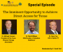 Artwork for The Imminent Opportunity to Achieve Direct Access for Texas (Featuring Mike Connors, Mark Milligan, & Dana Tew)