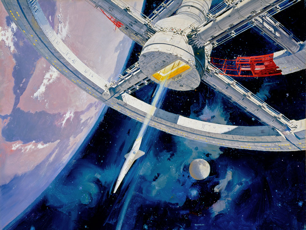 A Cruise Ship Space Station