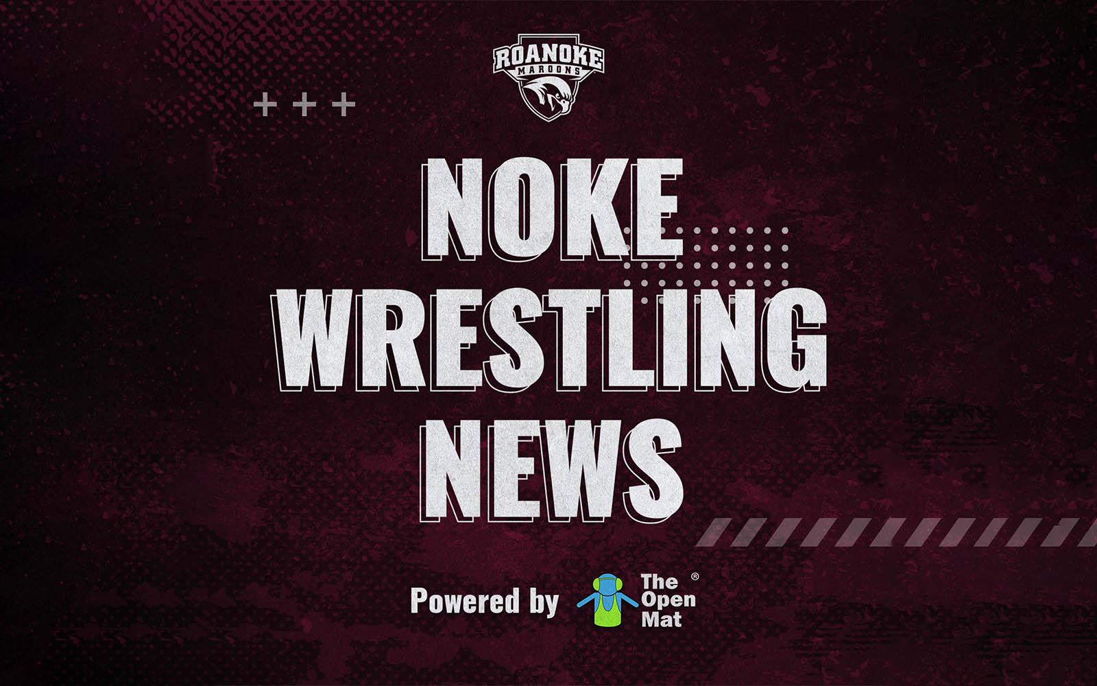 Noke Wrestling News show art