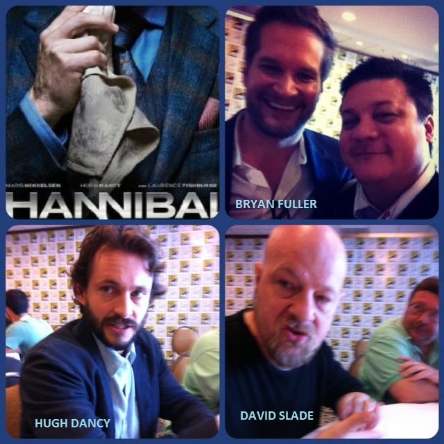 Episode 489 - SDCC: Hannibal w/ Bryan Fuller (Showrunner), David Slade (Director) & Hugh Dancy (Will Graham)