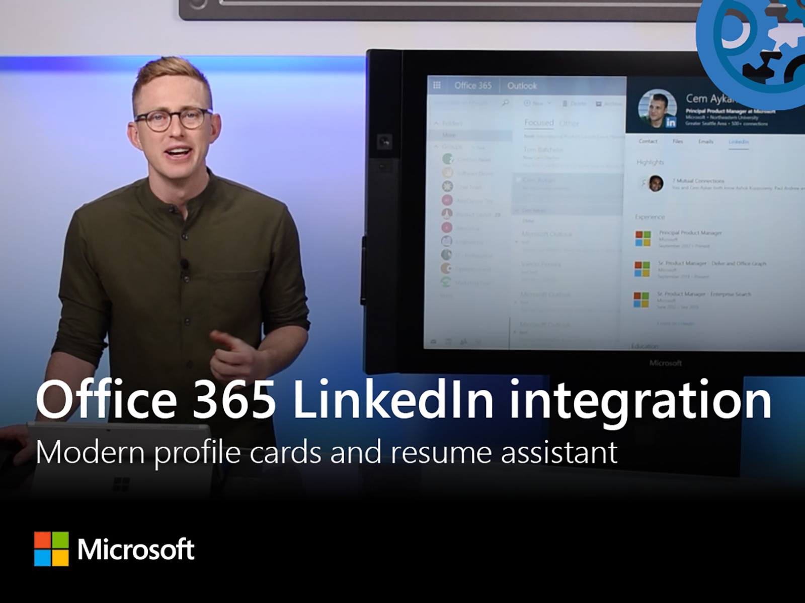 Microsoft Mechanics: Office 365 LinkedIn integration