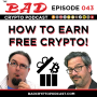 Artwork for How to Get Free Cryptocurrency