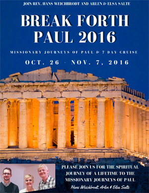 Break Forth Paul 2016 Brochure