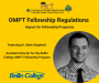 Artwork for OMPT Fellowship Regulations/Changes: The Impact on Fellowship Programs featuring Dr. Mark Shepherd
