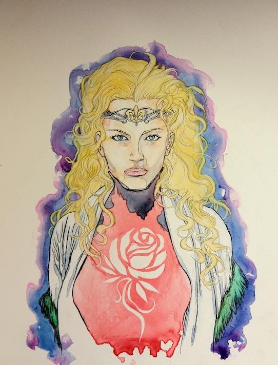 tWoTART: Jordancon4 artshow ELAYNE