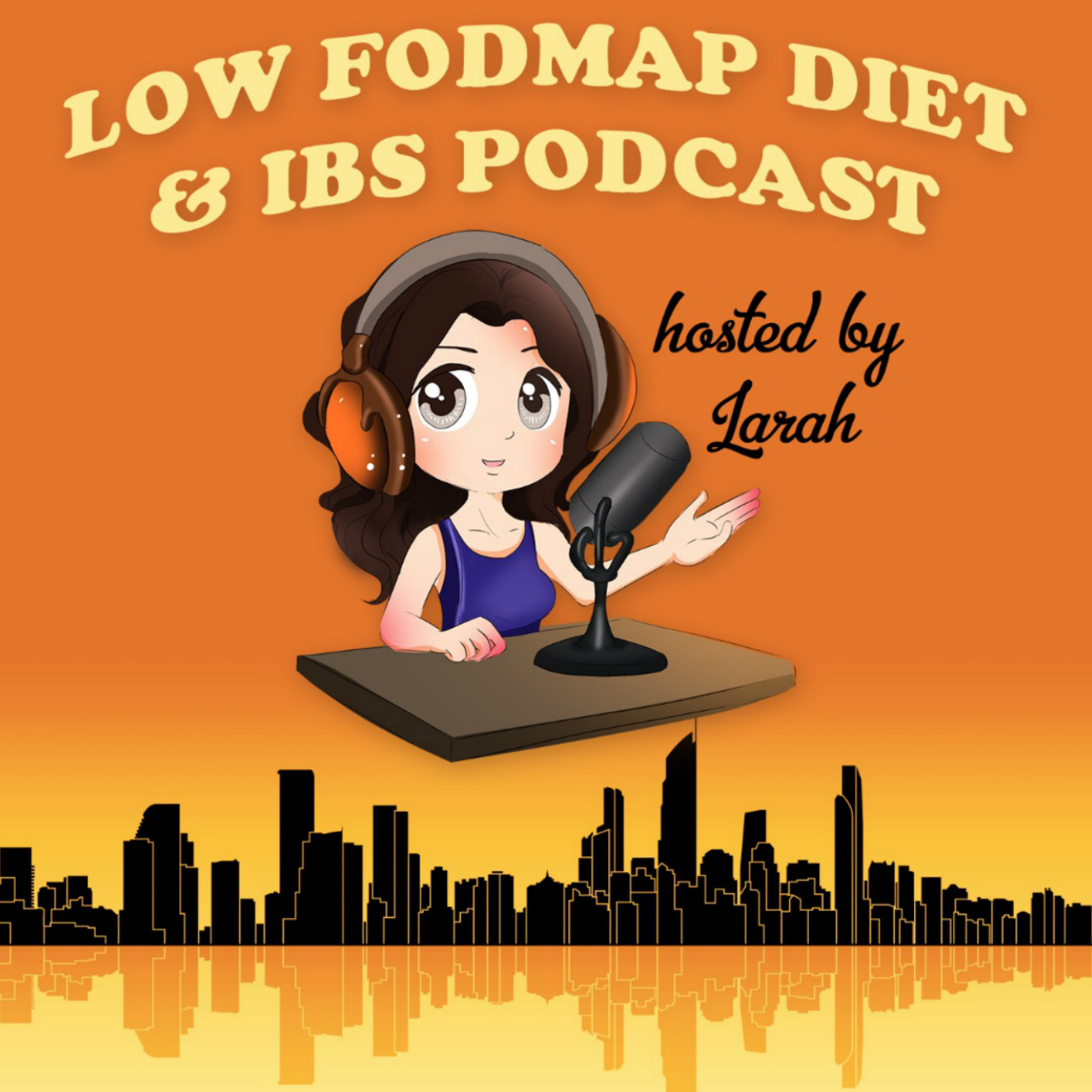Low FODMAP Diet and IBS Podcast show art