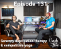 Artwork for Episode 131 – Sensory deprivation therapy & competitive yoga