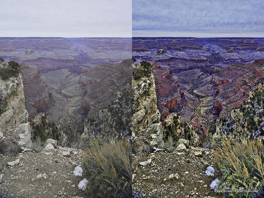 Grand Canyon comparo