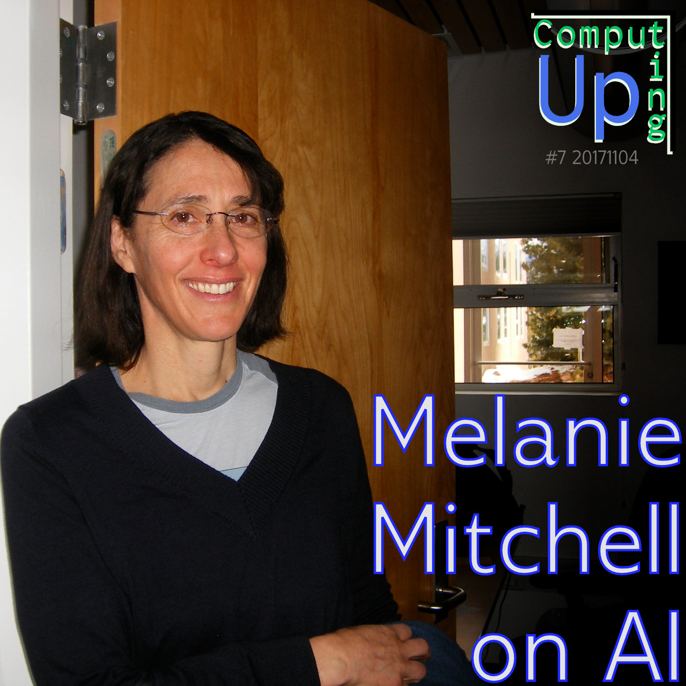 Artwork for Melanie Mitchell on AI - Computing Up Seventh Conversation