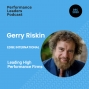 Artwork for Gerry Riskin on leading High Performance Firms