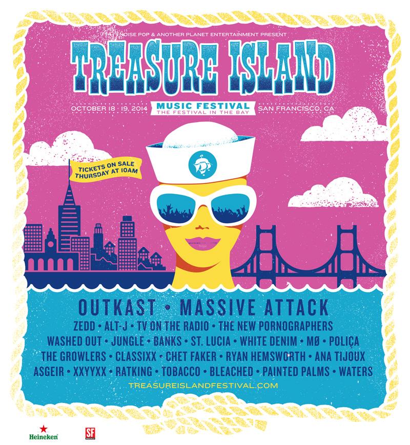 Treasure Island 2014 Lineup Announcement