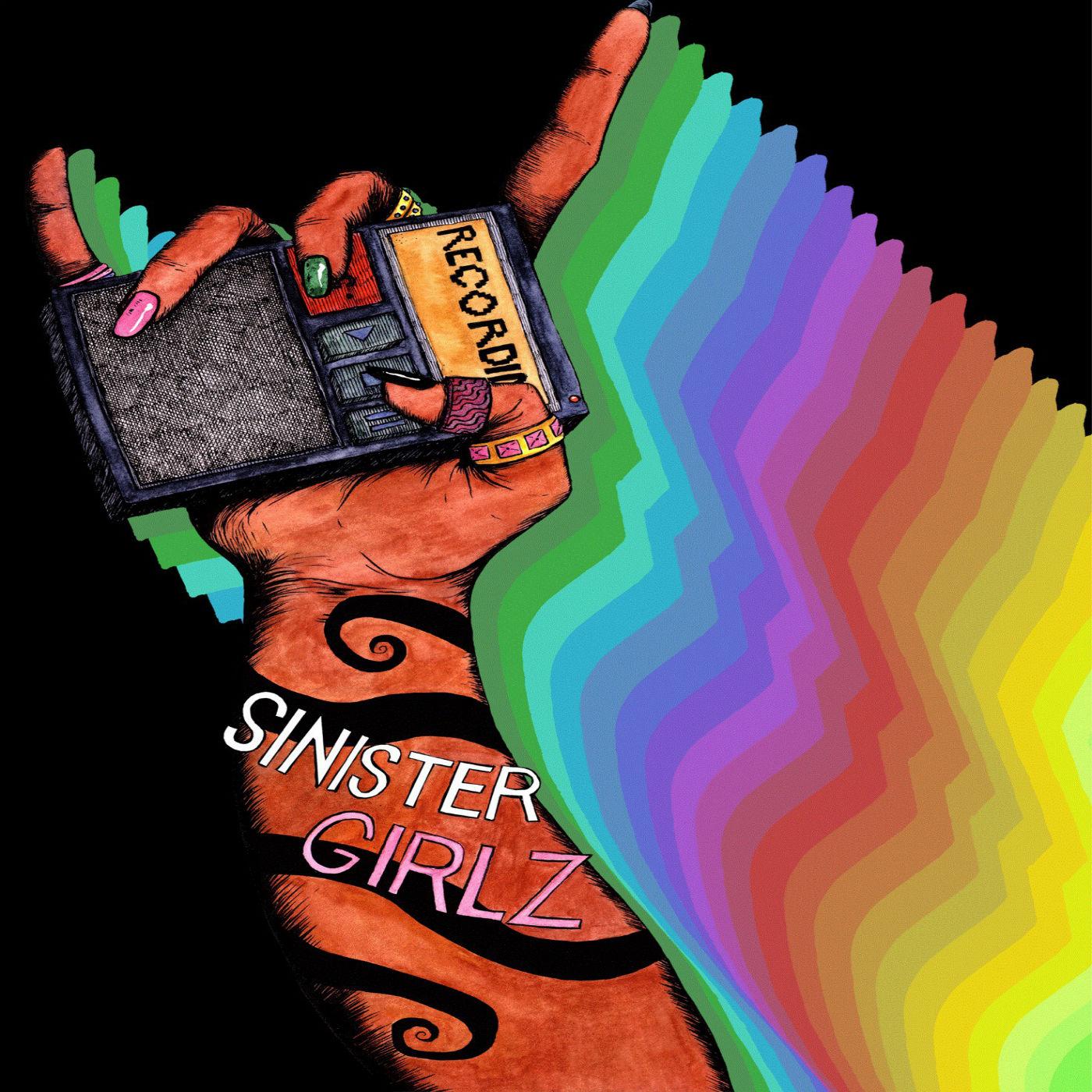 Sinister Girlz show art