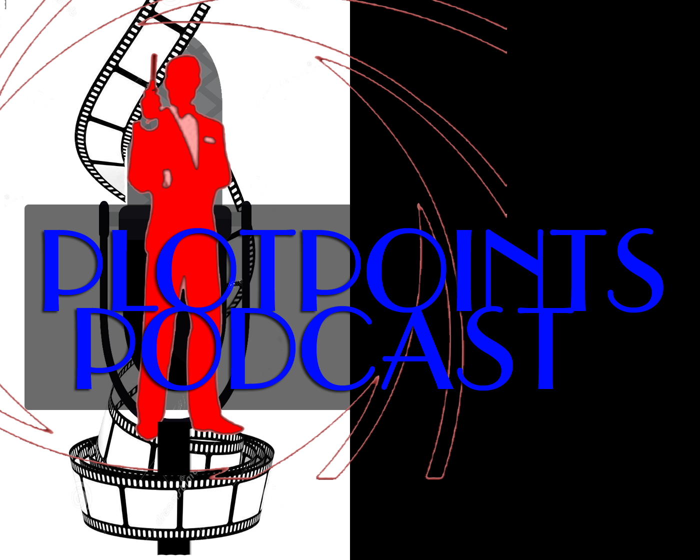plotpoints logo with james bond