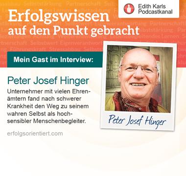 125 - Im Gespräch mit Peter Josef Hinger