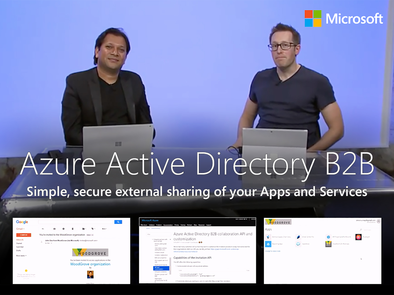 Artwork for Azure Active Directory B2B: simple, secure external sharing of your Apps and Services