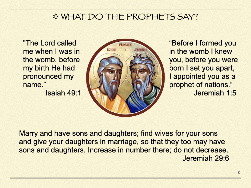 What Do The Prophets Say?