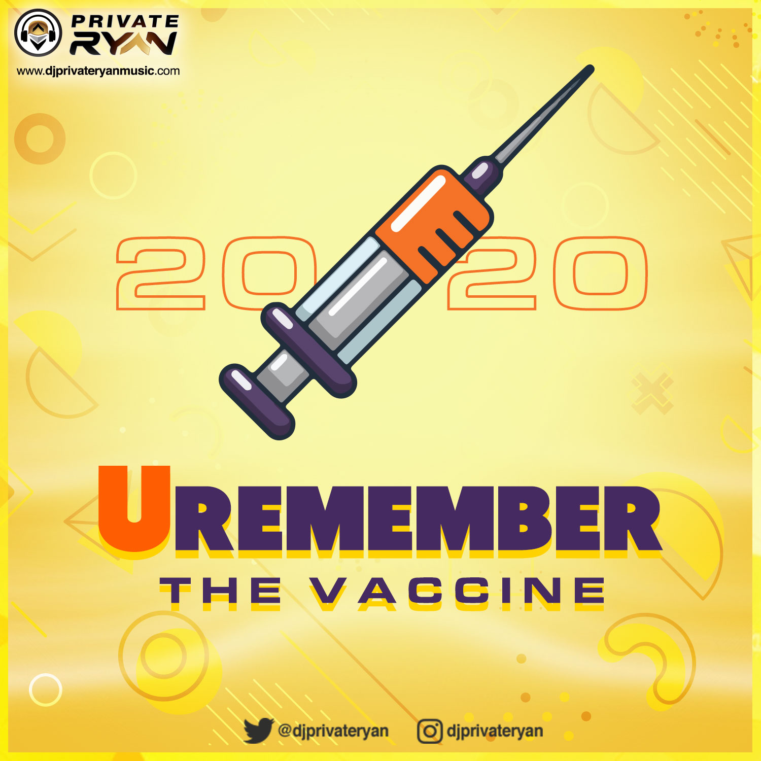 Private Ryan Presents Remember 2020 (Best of 2020 RAW) The Vaccine