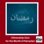 Artwork for A Citizenship Quiz for the Month of Ramadan