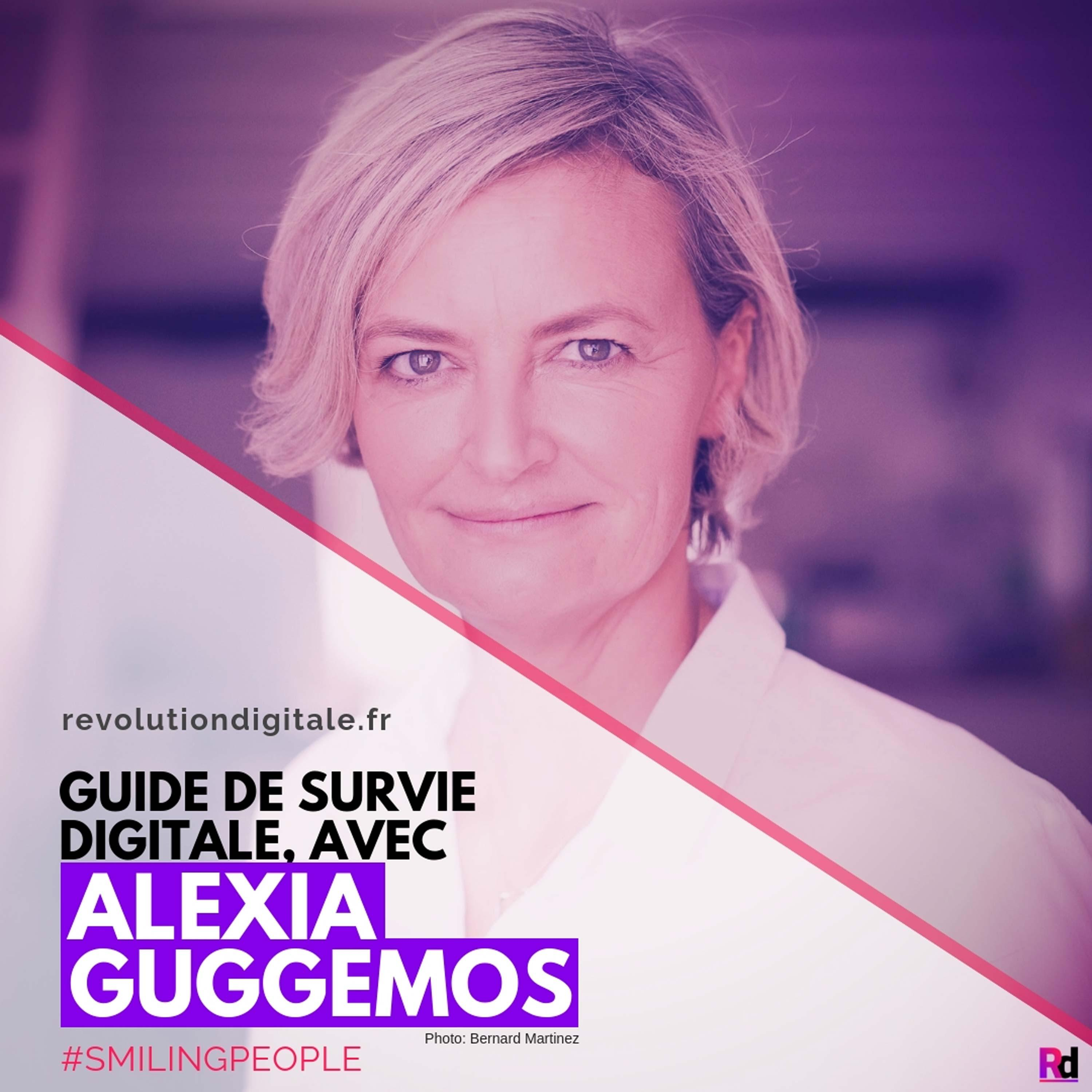 Guide de survie digitale, avec Alexia Guggémos (L'Observatoire Social Media - Smiling People)