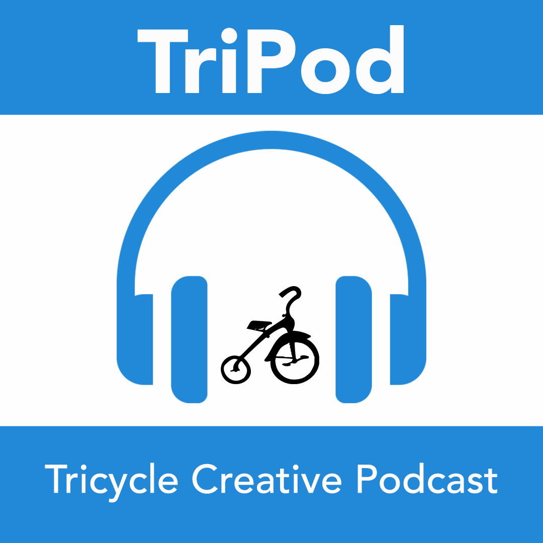 TriPod | Tricycle Creative Marketing + Business Podcast show art