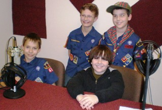 Max Interviews William, Cole and John...Three Cub Scouts Who Are About To Become Boy Scouts