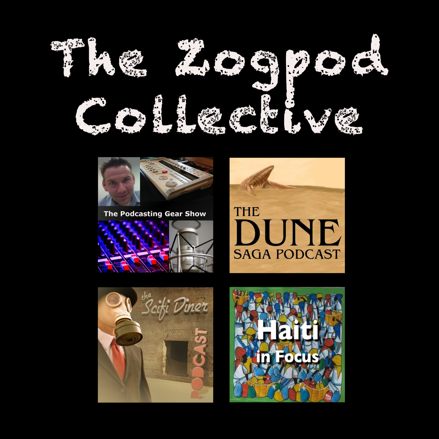 The Zogpod Collective show art